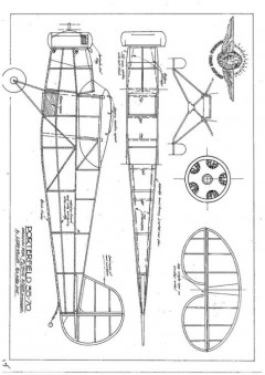 Porterfield 35-70 model airplane plan