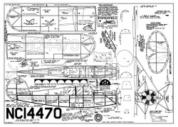 Porterfield model airplane plan
