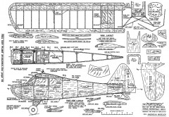 Porterfly-AM-09-67 model airplane plan
