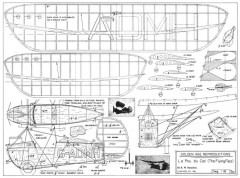 Pou de Ceil model airplane plan