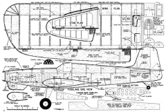 Pow Wow CL model airplane plan