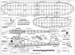 Power House 41 model airplane plan