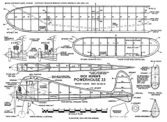 Powerhouse full model airplane plan