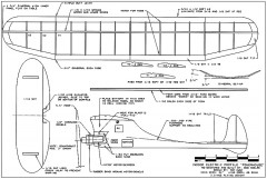 Powerhouse indoor elec model airplane plan