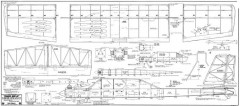 Prairie Bird 50 model airplane plan