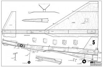 Praying Mantis RCM185 model airplane plan