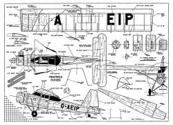 Prestwick Pioneer-FM-08-56 model airplane plan