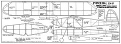 PrincHal model airplane plan