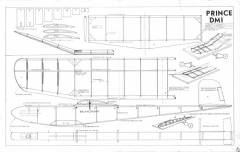 Prince Dmi model airplane plan