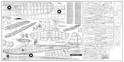 Privateer Super 15 model airplane plan