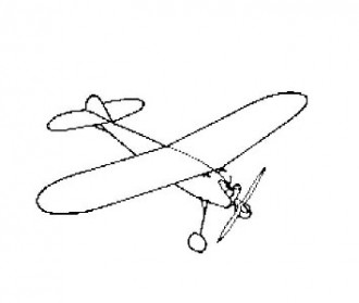 Privateer B.S model airplane plan