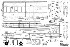 Professor RCM-335 model airplane plan