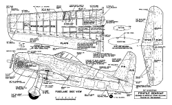 Profile Bearcat CL 58in model airplane plan