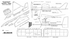 Project 3 Giant Steps model airplane plan