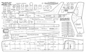 Project 5 Giant Steps model airplane plan