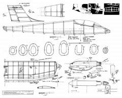 Pucara model airplane plan