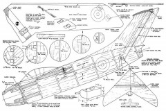 Pulqui II model airplane plan
