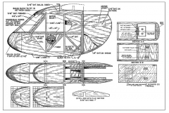 Pusher Sportster model airplane plan