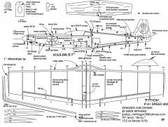 Python 29in elec model airplane plan