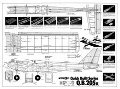 QB 20S II model airplane plan