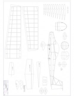 Qualt 200 L Model 1 model airplane plan