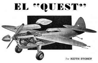 Quest model airplane plan