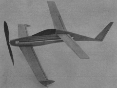 Quickie Profile model airplane plan