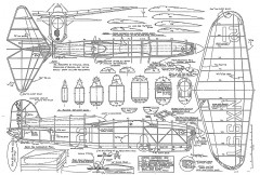R1 Chambermaid model airplane plan