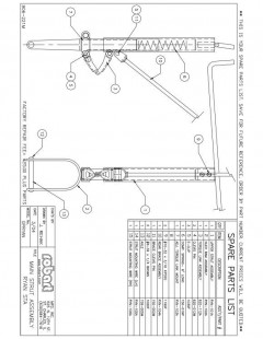 RYNSPM model airplane plan