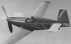Racek R-7 model airplane plan