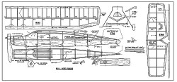 Ranger FM-1950 model airplane plan