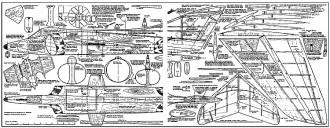 Rapier DF model airplane plan