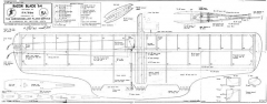Razor Blade '64 model airplane plan