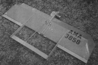 Razorblade model airplane plan