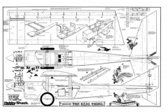 The Real Thing model airplane plan