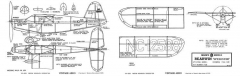 Rearwin Speedster-Megow Models model airplane plan