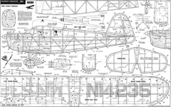 Rearwin Speedster 38in model airplane plan