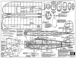 Rearwin Sportster 7000 FSI-R1 model airplane plan