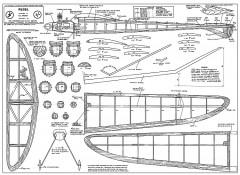 Rebel 54in model airplane plan