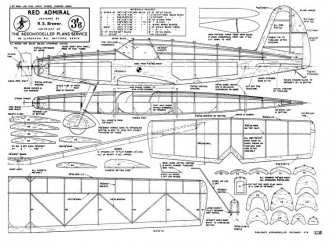 RedAdmiral model airplane plan