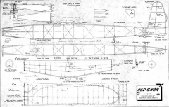 RedSwan model airplane plan