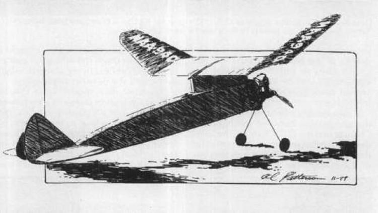 Red Ripper model airplane plan