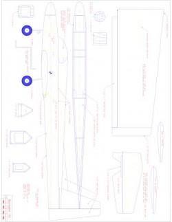 Renegade Model 1 model airplane plan
