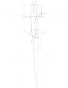 Rep Type B p2 Model 1 model airplane plan