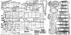Republic P-47N fullsize model airplane plan