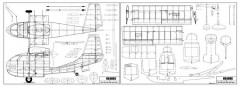 Republic Seabee-1 model airplane plan