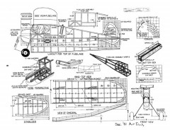 Request-1 model airplane plan