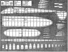 Revenge1 model airplane plan