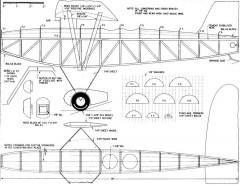 Reynard model airplane plan