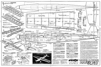 Rickey Rat RC model airplane plan